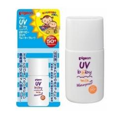 Kem chống nắng cho bé Pigeon UV Baby Milk Waterproof SPF50 + 20g