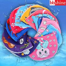 [HCM]Nón bơi cho bé gái họa tiết hình thú sinh động tươi tắn BBShine – NB003