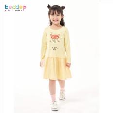 Váy thun in hình cao cấp Beddep Kids Clothes cho bé gái từ 1 đến 8 tuổi G09