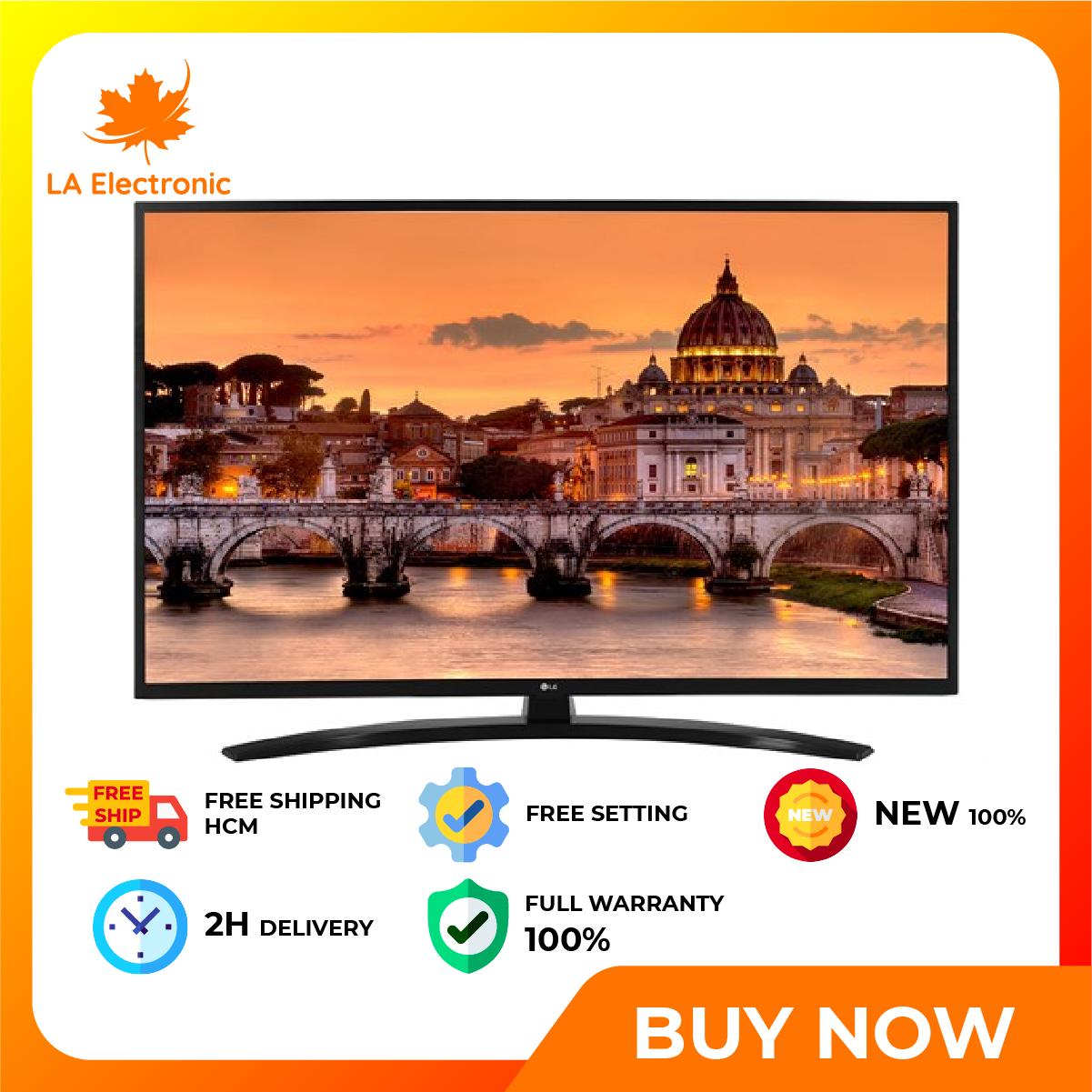 Installment 0% – Smart TV LG 4K 43 inch 43UN7400PTA New 2020