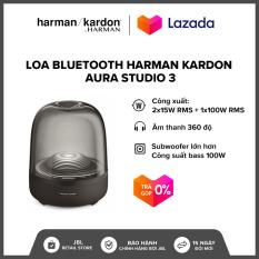 [TRẢ GÓP 0%] Loa Bluetooth Harman Kardon Aura Studio 3 l Công suất: 2 x 15W RMS + 1 x 100W RMS l 45Hz-20kHz l Bluetooth 4.2 l HÀNG CHÍNH HÃNG