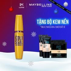 Mascara Dưỡng Mi Collagen Dày Mi gấp 10 lần Maybelline New York Colossal Waterproof Chuốt Mi Không Lem Không Trôi 9.2ml