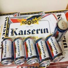 Bia Đức Kaiserin Lager Xuân 24 lon 4,9% HSD tháng 1 năm 2022