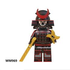 Đồ chơi lắp ráp Minifigure Nhân Vật Samurai WM6090