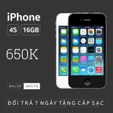 Điện thoại IPHONE 4S – 16GB phiên bản quốc tế – Bao đổi trả (Màu ngẫu nhiên trắng/đen) – Tặng cáp sạc – Everything Store 1983
