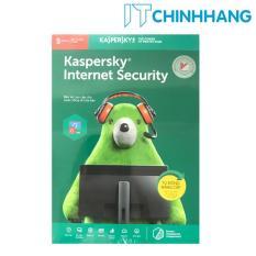PHẦN MỀM BẢO MẬT MÁY TÍNH KASPERSKY INTERNET SECURITY 5PC- HÃNG PHÂN PHỐI CHÍNH THỨC