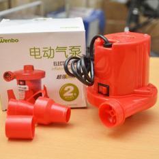 Máy bơm hút chân không 2 chiều Wenbo (Đỏ)-Qmart