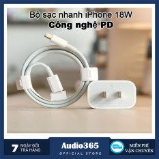 Bộ Sạc Nhanh iPhone 18W Công Nghệ PD – Sử Dụng Được Cho iPhone 11/11Pro/11 Pro Max / 8/8 Plus / X/Xs /Xs Max