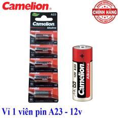Vỉ 1 viên Pin A23 12V Camelion Alkaline – dùng cho chuông cửa, cửa quấn, điều kiển từ xa…