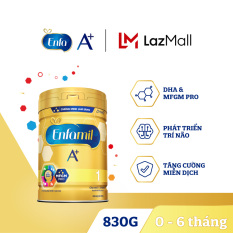 [FREESHIP] Sữa bột Enfamil A+ 1 cho trẻ từ 0-6 tháng tuổi (830g) – Cam kết HSD còn ít nhất 10 tháng