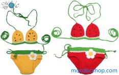 Bikini len dưa hấu cho bé gái 3-20 kg
