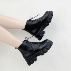 Giày bốt cổ lửng Martin phong cách Hàn Quốc hàng Hót 2020