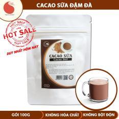Bột Cacao sữa không hương liệu , Light Cacao , gói 100g