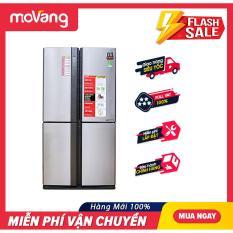 [TRẢ GÓP 0%] Tủ lạnh Sharp Inverter 556 lít SJ-FX630V-ST – Công nghệ làm lạnh : Hệ thống làm lạnh kép Hybrid Cooling – Công nghệ bảo quản thực phẩm : Ngăn làm lạnh kép Hybrid cooling giữ lâu thực phẩm – Công