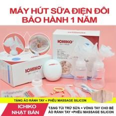 Máy Hút Sữa Điện Đôi Ichiko Hàng Bảo Hành 1 Năm Damoba