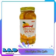 Đào Ngâm Yellow Peach Hàn Quốc 680gr
