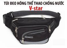 Túi đeo hông , Túi đeo bụng , túi đeo ngang bụng thể thao , túi bao tử chống thấm nước 6 ngăn tiện dụng V-Start