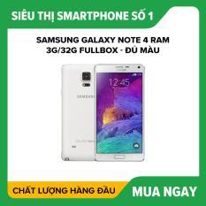 SAMSUNG GALAXY NOTE 4 ram 3G/32G Fullbox – Đủ Màu