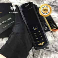 Điện Thoại vertu V9 2 sim giá rẻ – 2 pin kèm bao da