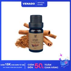 Tinh dầu Vỏ Quế 10ml khử mùi làm thơm phòng xua đuổi muỗi và côn trùng thiên nhiên nguyên chất 100% Venado Cinnamon essential oils