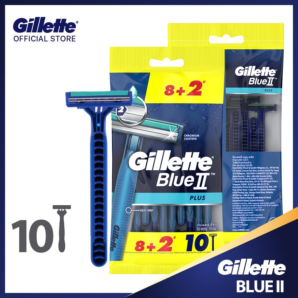 Dao cạo râu Gillette Blue II Plus
