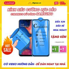 Kính cường lực Samsung A71 A51 A9 2018 S10 Plus A10s A10 Note 9 J7 Pro J7 Prime A70 A7 2018 S9 Plus M20 M30 A11 A21s A31 – miếng dán màn hình Samsung full màn dẻo ceramics