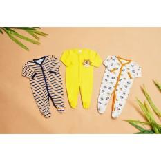 Body liền tất dài tay body cotton có bao chân cho bé sơ sinh sản phẩm tốt với chất lượng độ bền cao và được cam kết sản phẩm y như hình