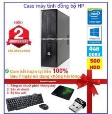 Case máy tính đồng bộ HP CPU G3220/ HDD 500GB/ RAM 4GB