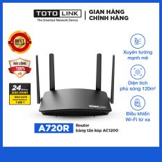 TOTOLINK – A720R – Router băng tần kép AC1200
