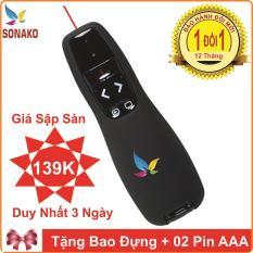 Bút Trình Chiếu Wireless Presenter R400 Powerpoint – Sonako