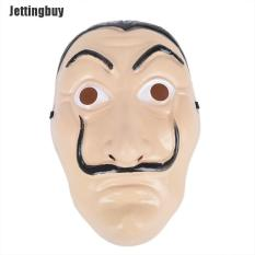 Jettingbuy Salvador Dali Tiền Heist The House Of Paper La Casa De Papel Mặt Nạ Halloween