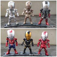 MÔ hình cao cấp Iron Man Đồ chơi figure chibi Marvel Ironman Người sắt MK Tony Stark avenger