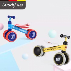 Xe chòi chân Luddy (Chính hãng – Nhiều mẫu) cho bé 10-24 tháng 4 bánh yên da mềm tiêu chuẩn chất lượng châu Âu CE