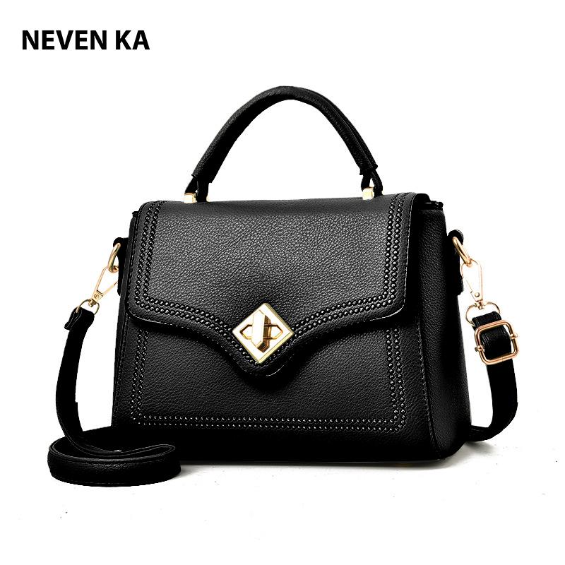 Túi xách nữ công sở khóa xoay xinh xắn thương hiệu NEVENKA N9124