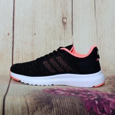 Giày thể thao thời trang đen cam thời trang HĐ114