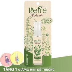 Xịt khử mùi Refre Natural Green Tea (Hương trà xanh) 30ml