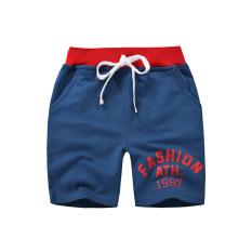 Quần thun bé trai BE TOP, quần short cho bé họa tiết in Fashion 1987