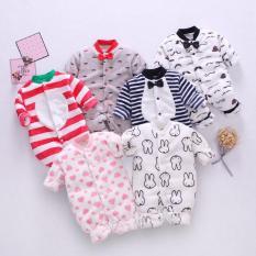 Áo liền quần Body nỉ băng lông cho bé Trai bé Gái Hàng Quảng Châu xuất Nhật Body cho bé gái Body cho bé trai SLN01