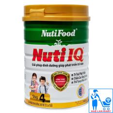 Sữa Bột Nutifood Nuti IQ Step 4 – Hộp 900g (Cho trẻ từ 2~6 tuổi)