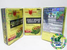 [HCM]Dầu gió con ó vàng bạc hà eglae brand hai nắp peppermint usa chính hãng 24 ml