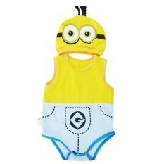 Bộ Bodysuit Hình Minion cực kỳ đáng yêu cho bé trai và gái – BDS10_MINION# – Mihababy