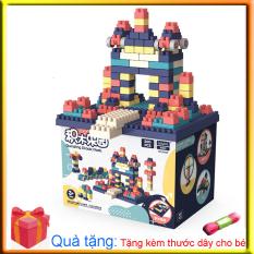 Bộ xếp hình lego 520- 360- 260 chi tiết- Đồ chơi lắp ghép phát triển trẻ toàn diện