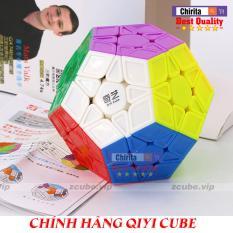 Rubik Megaminx Chính Hiệu QIYI CUBE – RuBik Biến Thể Cube Megaminx Cao Cấp Stickerless 324