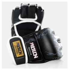 Găng tay tập luyện đấm bao cát – MMA Wolon – Găng tay MMA wolon – đen – 327