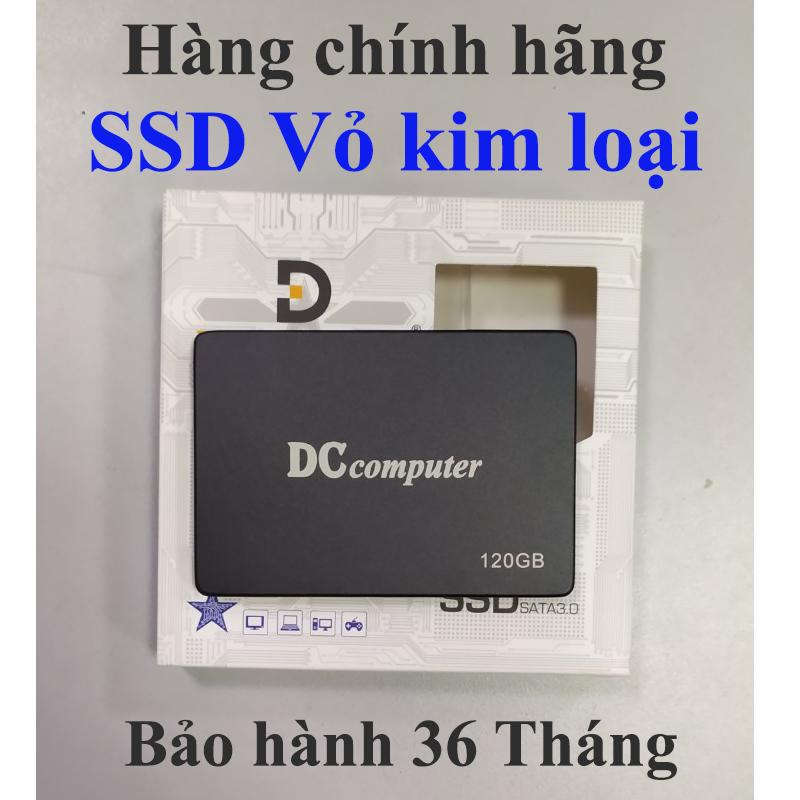 Ổ SSD 120GB DCcomputer Chính hãng Bảo hành 36T (Vỏ kim loại)