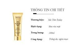 Sữa rửa mặt – Trắng da – Sạch mụn – Sắc tiên today (100ml) chống viêm hiệu quả kiểm soát lượng dầu nhờn trên da làm sạch da ngừa mụn liền sẹo