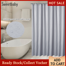 【Bán Nóng】Rèm Phòng Tắm Chống Ẩm Chống Ẩm Bền Với Móc