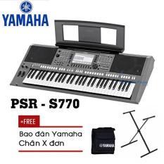 Đàn Organ Yamaha PSR-S775 Kèm AD + Giá nhạc + Chân X đơn + Bao đàn – Organ chuyên nghiệp – Việt Hoàng Phong