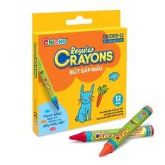 Bút Sáp 12 Màu Reglar Crayons