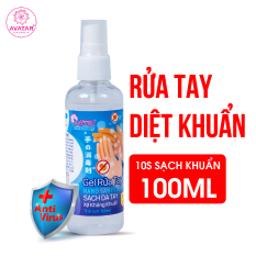 Gel rửa tay khô AVATAR – Xịt kháng khuẩn – Dạng xịt – 75% CỒN (100ml)